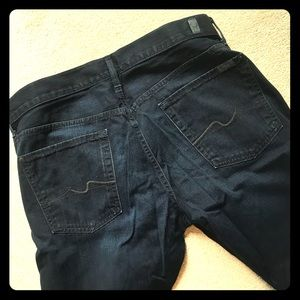 7 For All Mankind jeans for men, size 36W